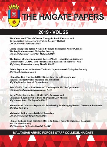The Haigate Papers 2019 (Vol 26)